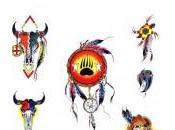 Modèles pour tatouage d'indiens d'Amérique