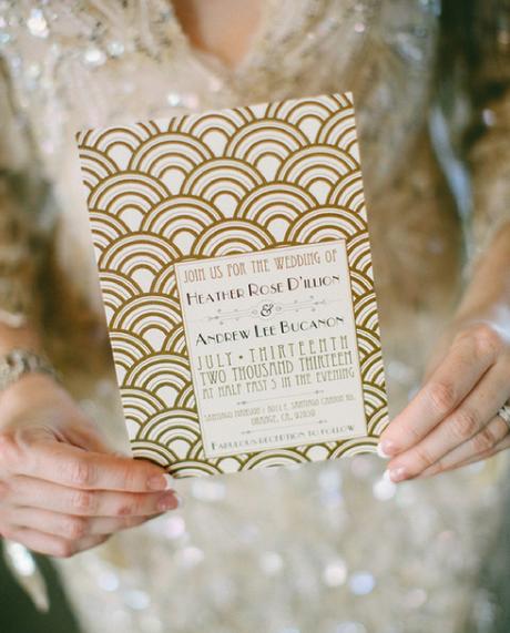 Gatsby : Une Décoration De Mariage Inspirée Des Années