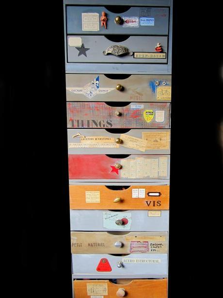 Meuble d 39 atelier d couvrir for Meuble customise peinture