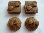 mini-cakes hyperprotéinés cappucino amaretto fèves cacao souchet (sans oeufs sucre beurre)
