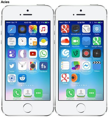 theme pour iphone 5c gratuit