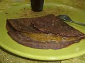 crêpes chocolat fourrées crème pistaches lait ribot)