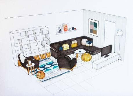 une pi ce vivre en is re paperblog. Black Bedroom Furniture Sets. Home Design Ideas