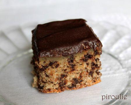 G teau moelleux au chocolat et la noix de coco sans farine ni gluten voir - Gateau au chocolat sans farine ...