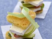 Amuse bouche Saint Valentin Coeur Sandwich Caprice Dieux
