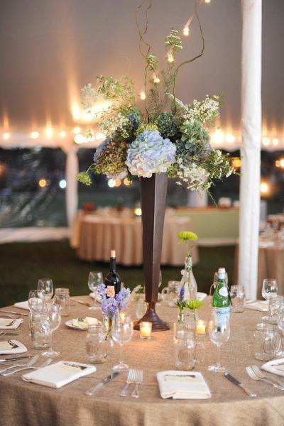 Id es de d corations de mariage th me jute ou lin paperblog - Idee de theme de mariage ...