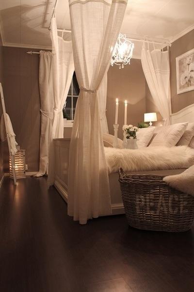 Chambre Romantique Blanche : Décoration de la chambre romantique- 55 ...