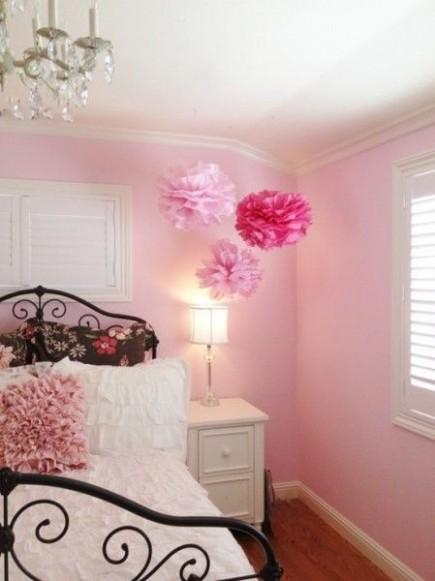 Chambre Rose Pale : Chambre – rose