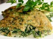 Omelette épinards l'épeautre