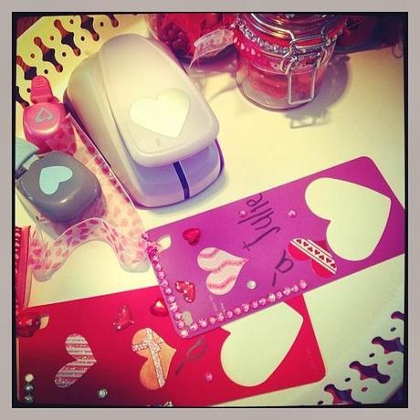 Bricolage signets pour la st valentin diy paperblog - Bricolage st valentin facile ...