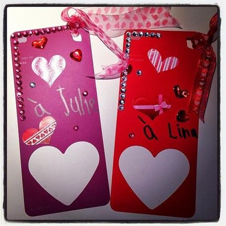Bricolage signets pour la st valentin diy paperblog - Idee activite saint valentin ...