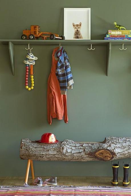 une chambre d 39 enfant en vert kaki d couvrir. Black Bedroom Furniture Sets. Home Design Ideas