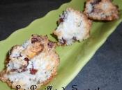 Recette rochers coco abricots secs
