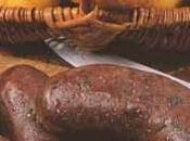 Boudin noir landais poêlé sec, pomme rouge ventrèche roulée épices basques, sauce porto cannelle Chine