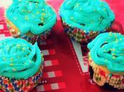 Cupcakes caramel beurre salé/baie goji