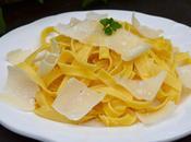 Tagliatelles parmesan huile truffes