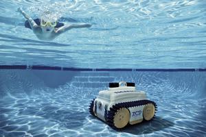 Robot piscine nemh2o de ambrogio zucchetti voir - Robot piscine sans fil batterie ...