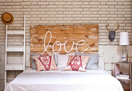 9 jolis mod les de t te de lit en bois paperblog. Black Bedroom Furniture Sets. Home Design Ideas
