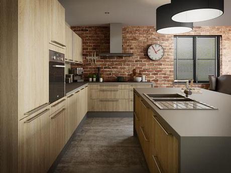 Cuisine brique rouge ~ Solutions pour la décoration intérieure de ...