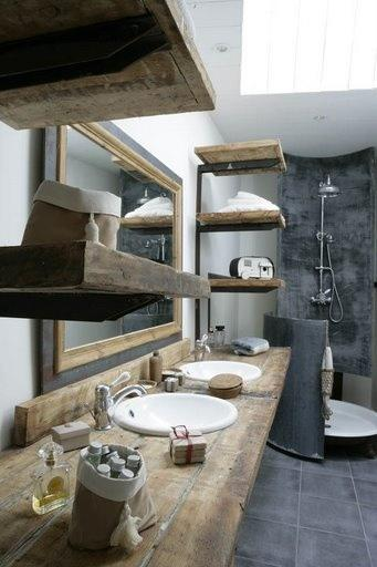 jolie salle de bain paperblog. Black Bedroom Furniture Sets. Home Design Ideas