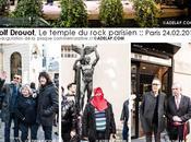 Reportage Golf Drouot, temple Rock Français, Inauguration plaque commémorative