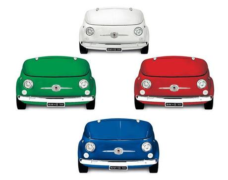 Smeg 500 quand la fiat 500 rencontre smeg paperblog for Decoration murale fiat 500