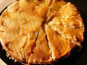 gâteau renversé pommes caramélisées Martha Stewart