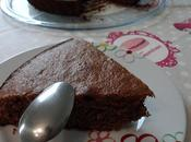 Gâteau pâte tartiner chocolat/orange