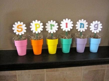 Comment incorporer le printemps dans sa d co maison lire - Decoration de printemps ...