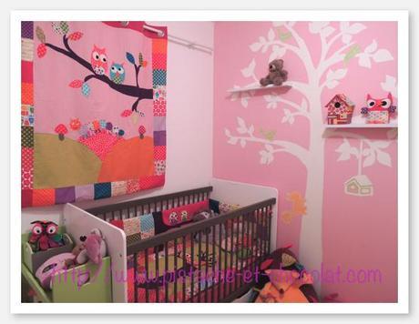 deux chambres b b avec linge de lit rideaux housses et doudous paperblog. Black Bedroom Furniture Sets. Home Design Ideas