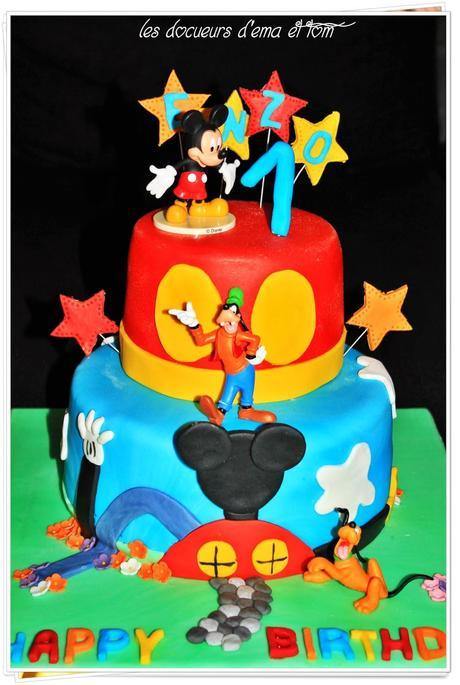 G teau la maison de mickey paperblog - Maison de mickey halloween ...