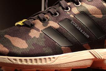 adidas zx flux femme militaire