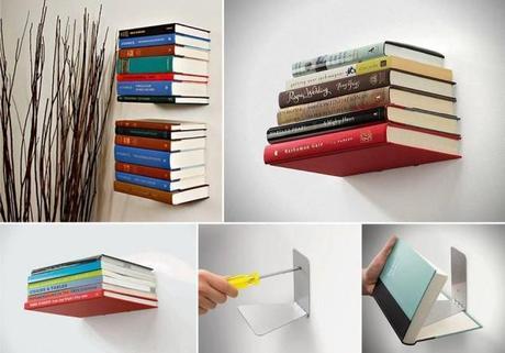 25 id es creatives de d coration faire soi m me voir - Idees de bibliotheques a faire ...