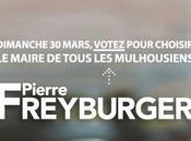 Agir pour Mulhouse votez Pierre Freyburger mars