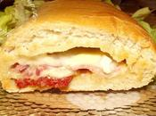Baguette fourrée fromage mais