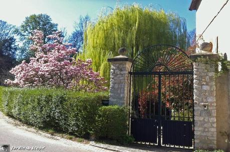 Le magnifique jardin du Moulin du Bac