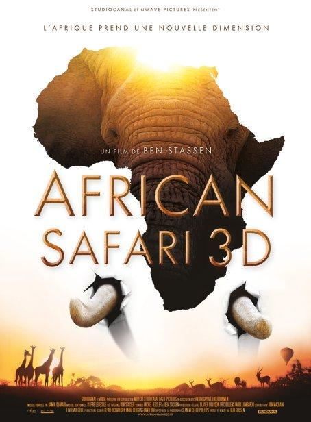 Affiche African Safari 3D