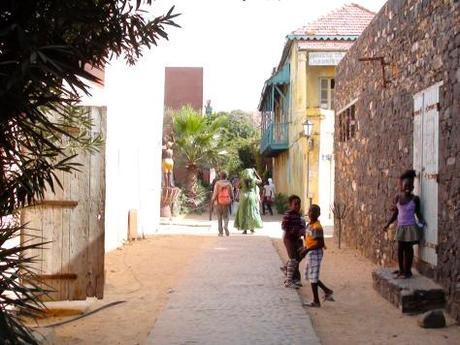 Les allées de Gorée, Sénégal