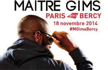 Maître Gims à Bercy pour un concert unique.