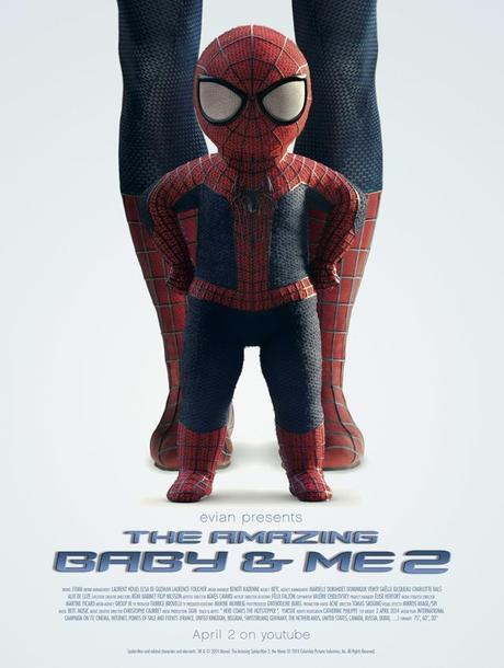 evian-bebe-Spider-Man-BETC-poster