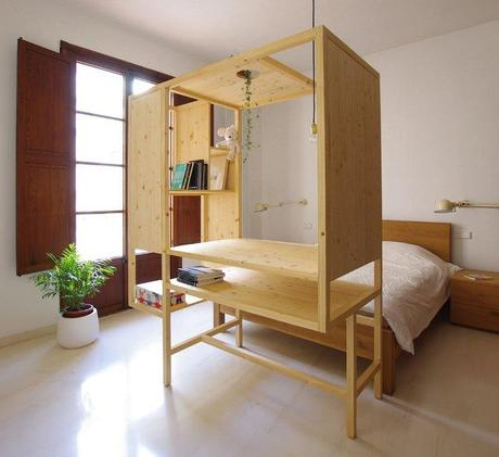 Aina meuble multifonctions par TEd'A arquitectes