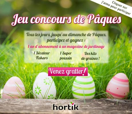 Jeu concours Facebook de Pâques !