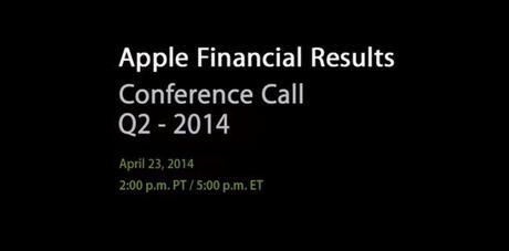 Apple resultats financiers Q2 2014