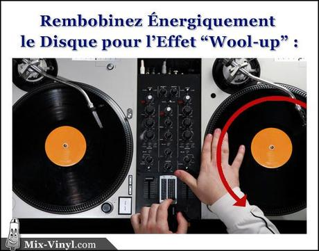 technique dj wool-up