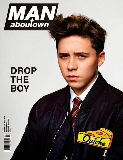 Brooklyn Beckham en couv' de Man AbouTown...