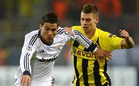 Real Madrid vs Borussia Dortmund en direct  à partir de 20h45 sur sur Sky Sports