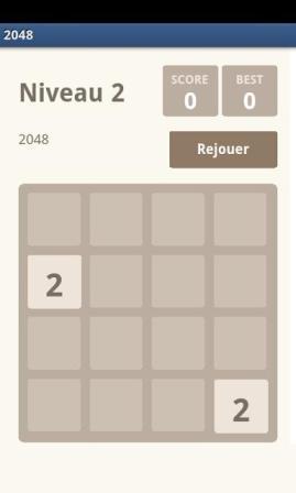 2048, le jeu qui rend fou !