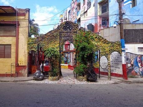 Cuba : el callejon de Hamel à La Havane