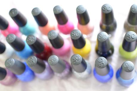 Les vernis à ongles Sinful Colors !
