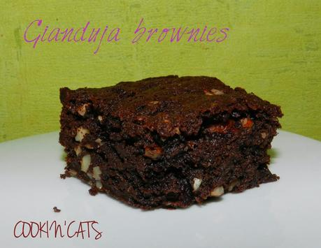 GIANDUJA BROWNIES